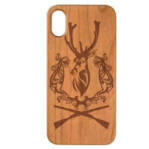 Accessories - Engraved wood Case